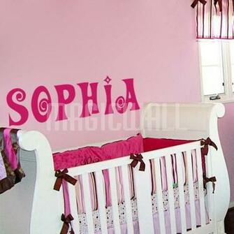Home Personalized Name Monogram Wall Decals Stickers