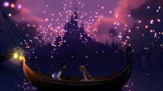 Tangled Lanterns Wallpaper Disney tangled by nylah22