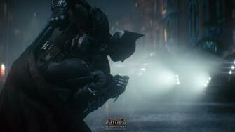 batmobile batman arkham knight game hd 1920x1080 1080p wallpaper and