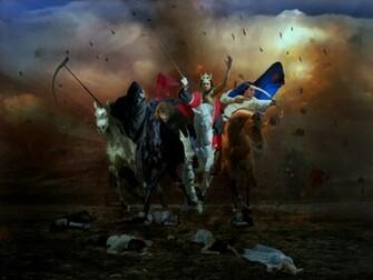 Four Horsemen of the Apocalypse by Manink