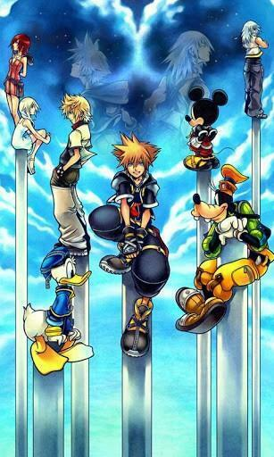 View bigger   Kingdom Hearts 3D Game Live WP for Android screenshot
