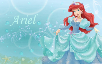 Walt Disney Images   Princess Ariel   Disney Princess Wallpaper