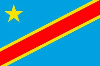 Wallpapers Democratic Republic of the Congo Flag Stripes 4499x2999