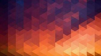Geometric Multicolor Triangles HD Wallpaper FullHDWpp   Full HD