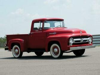 1956 Ford F 100 Custom Cab Pickup f100 retro wallpaper 2048x1536