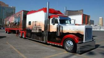 Peterbilt semi trucks tractor rigs wallpaper 1920x1080 53875