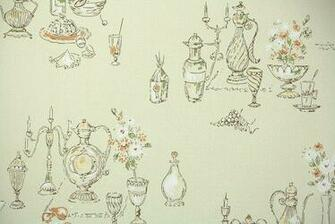 1950s Kitchen Vintage Wallpaper Hannahs Treasures Vintage