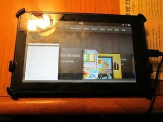 My Kindle fire by mylesterlucky7