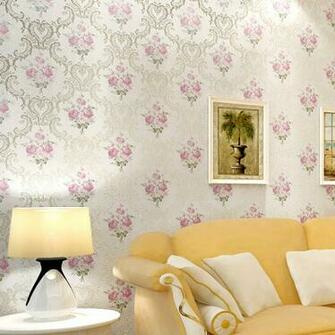 woven wallpaper rustic flower wallpaper tv background wall wallpaper