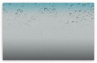 IOS 5 Wallpaper   Water Drops HD wallpaper for Standard 43 54