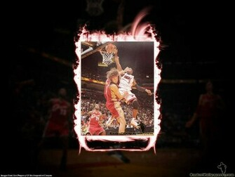 Dwyane Wade Dunk Over Varejao   Miami Heat Wallpaper