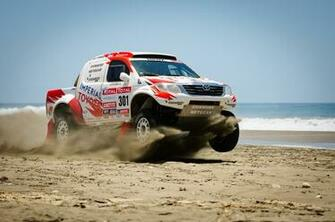 Dakar Dakar sea sand 4x4 offroad race racing wallpaper background
