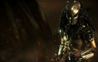 Wallpaper predator mask alien dreadlocks Predator DLC mask