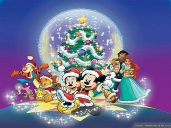 wallpapers merry christmas disney disney christmas wallpapers 1024x768