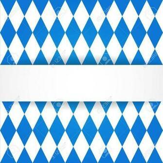 Oktoberfest Background Bavarian Flag Pattern Royalty