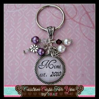 PERSONALIZED Purple Background Name Mom Grandma Mother or Nana