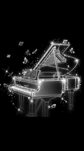 black and white piano iphone 5 HD wallpapers