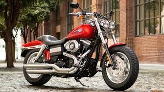 Harley Davidson FXDF Dyna Fat Bob 2013 Wallpapers