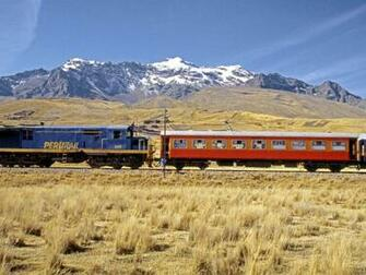 Train going to Peru wallpapers and images   wallpapers pictures