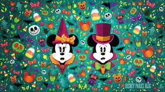 WonderFALLDisney Halloween Wallpaper Desktop Disney