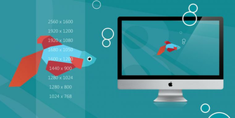Windows 8 Beta Fish wallpaper pack by Draganja