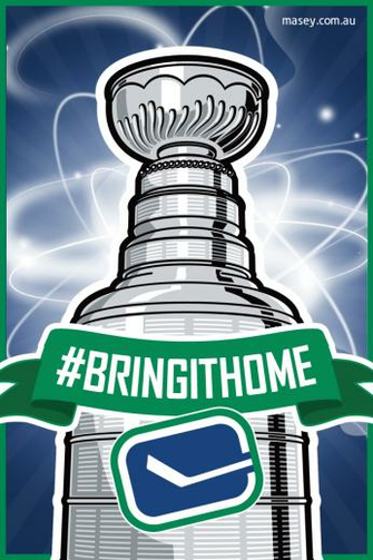 Vancouver Canucks BringItHome iPhone 4 Wallpaper Flickr   Photo