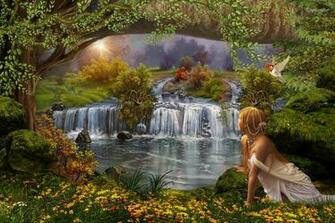 Fairy forest   167542   High Quality and Resolution Wallpapers on