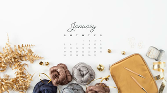 Downloadable January Calendar   KnitPicks Staff Knitting Blog