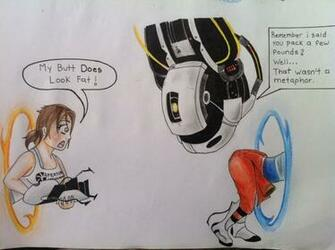 GLaDOS is Funny WATCH Portal 2 by TheGaboefects