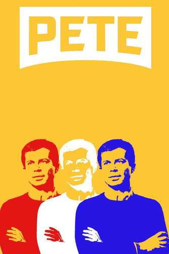 New look same Pete phone wallpaper for you Pete Buttigieg