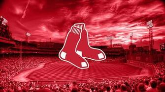 MLB Boston Red Sox 2015 Logo 4K Wallpaper