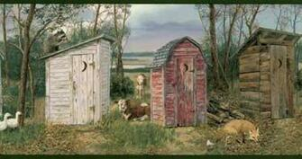 rustic outhouse wallpaper border hs3061b wallpaper border 1280x720jpg