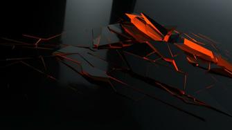 Orange And Black Wallpaper HD desktop pc setup in 2019 Orange