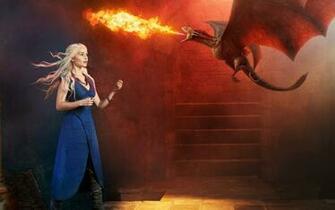 Emilia Clarke Game Of Thrones Daenerys Targaryen   Daenerys