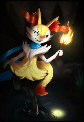 Pokemon   Braixen by JacyA