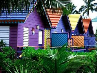 Colorful Houses Bahamas Wallpapers HD Wallpapers