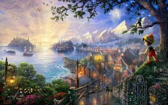 Pinocchio Walt Disney hd wallpaper background HD Wallpapers