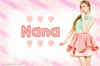 After School   Nana BG by iYoonaRawrx