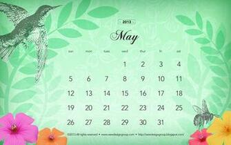 wee design group monthly wallpaper May 2013 calendar