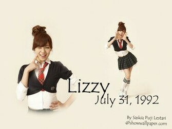 New School Girl After School Wallpaper afterschool lizzy 02