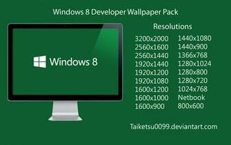 Windows 8 Developer Wallpaper Pack by Taiketsu0099 by Taiketsu0099 on