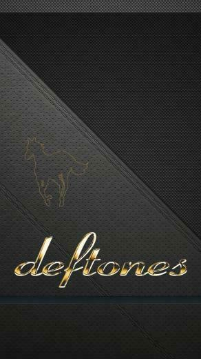 Deftones Wallpaper Hd Deftones logo iphone 5