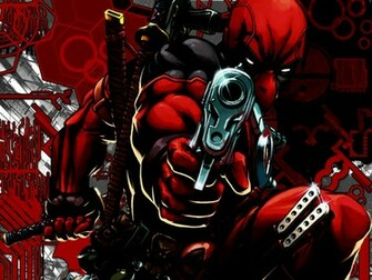 Guns Deadpool Wallpaper 1024x768 Guns Deadpool Wade Wilson Marvel