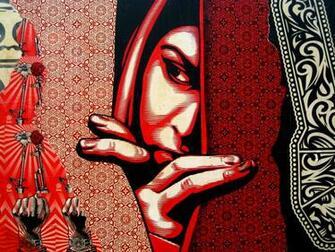 Wallpaper Shepard Fairey Illustrazion