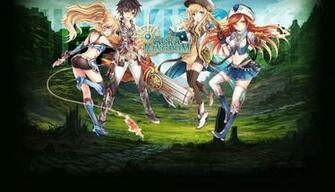 AURA KINGDOM anime mmo rpg online Fantasy adventure 1aking wallpaper