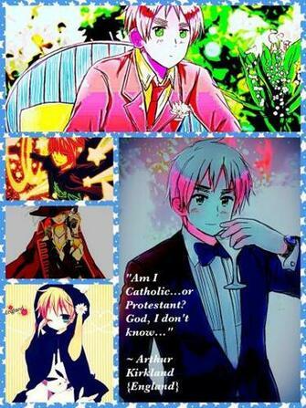 Hetalia England IPhoneIPadIPod wallpaper by AyaKaito