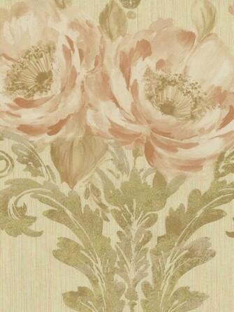 Interior Place   Brown Aphrodite Rose Wallpaper 3824 httpwww