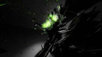 Abstract Green Glow Desktop Wallpaper and make this wallpaper for your