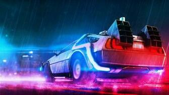 Back To The Future Neon Neon wallpaper Future wallpaper Wallpaper