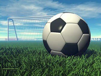 Paradox 3D Wallpaper Soccer Ball multiple wallpaper sizes